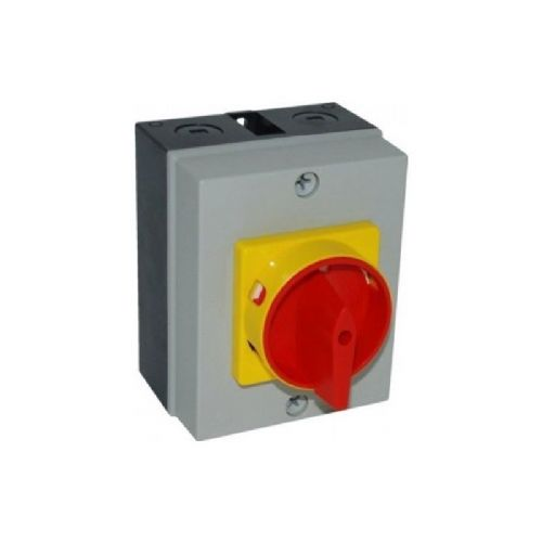 Rotary Isolator SALZER IP66 40 Amp 4 Pole